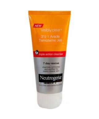 Neutrogena Visibly Clear 3 ü 1 Arada Temizleme Jeli 100 ml