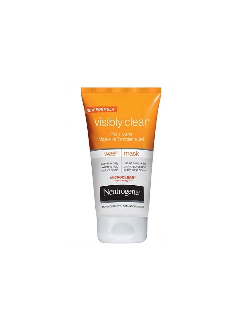 Neutrogena Visibly Clear 2 si 1 arada Maske ve Temizleme Jeli 150 ml