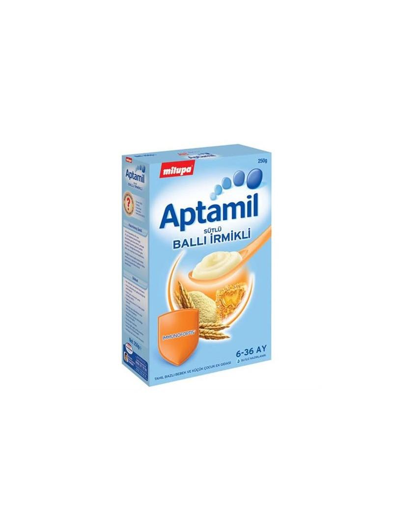 Milupa Aptamil Sütlü Ballı İrmikli Kaşık Maması 250gr