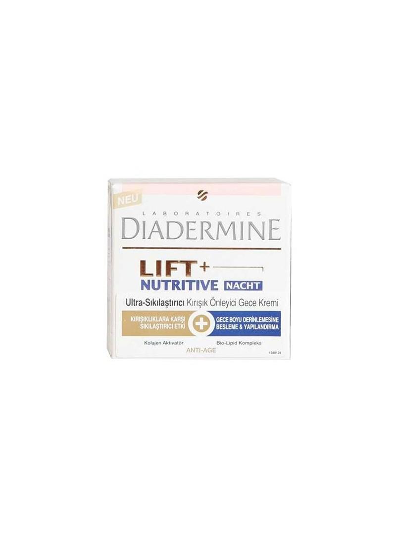 Diadermine Lift + Ultra-Sıkılaştırıcı Kırışık Öncesi Gece Kremi 50ml