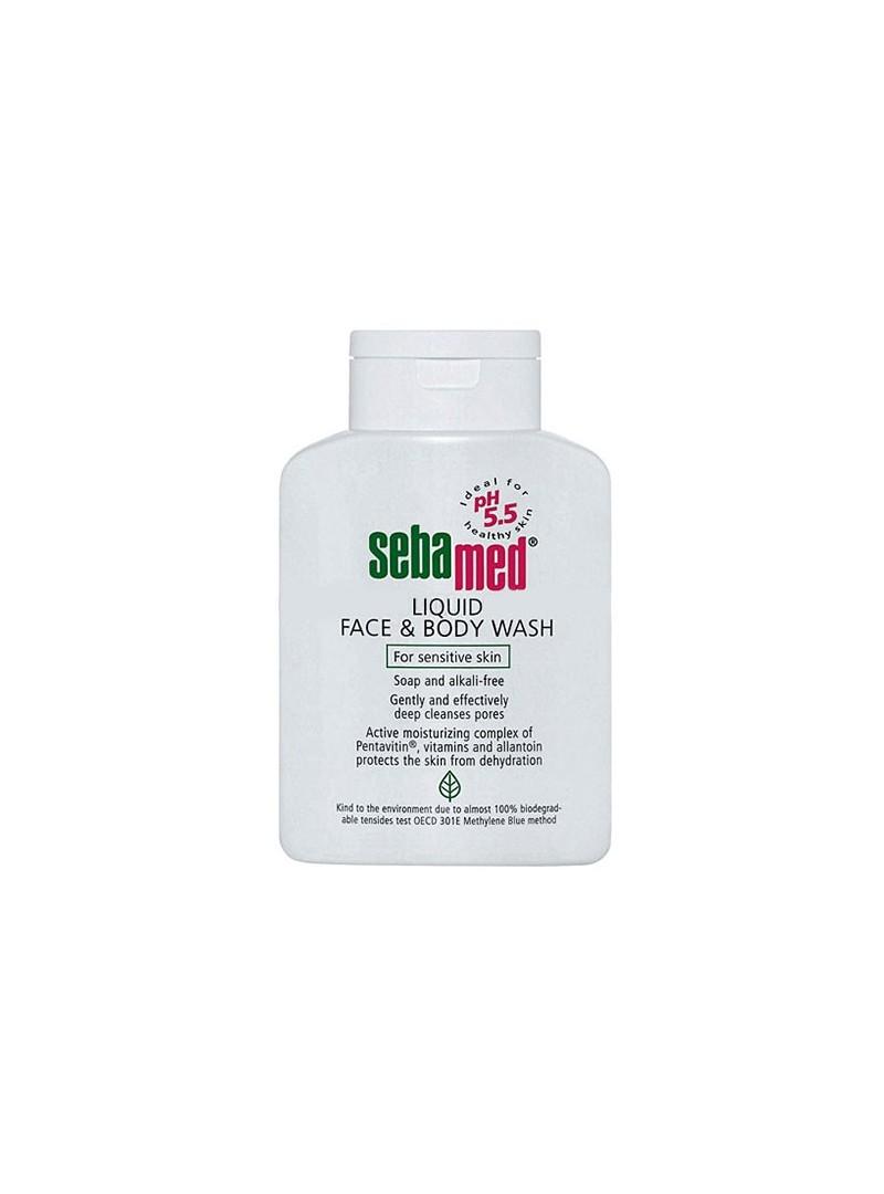 Sebamed Likit Yüz ve Cilt Temizleme Jeli (Liquid) 500ml