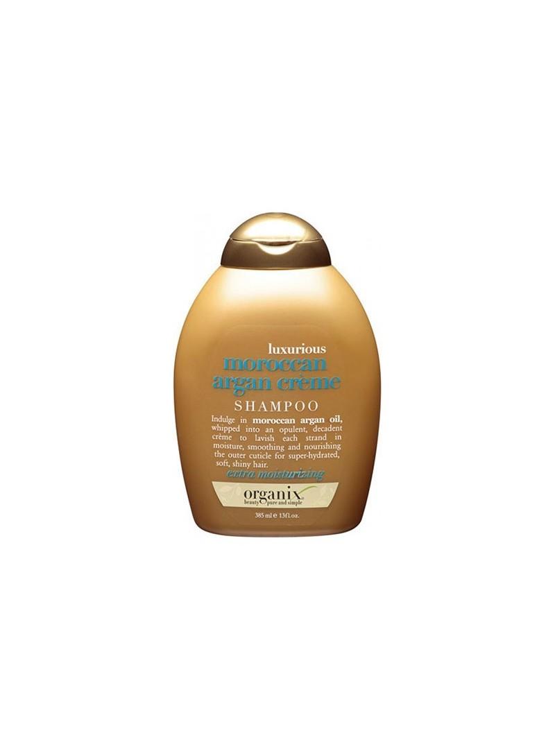 Organix Luxurious Moroccan Argan Creme Shampoo 385 ml Ekstra Nemlendirici Krem Şampuan