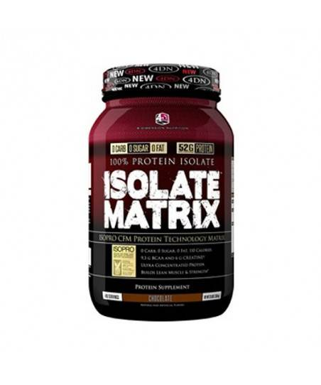 4D İsolate Matrix Cfm Whey Protein Tozu