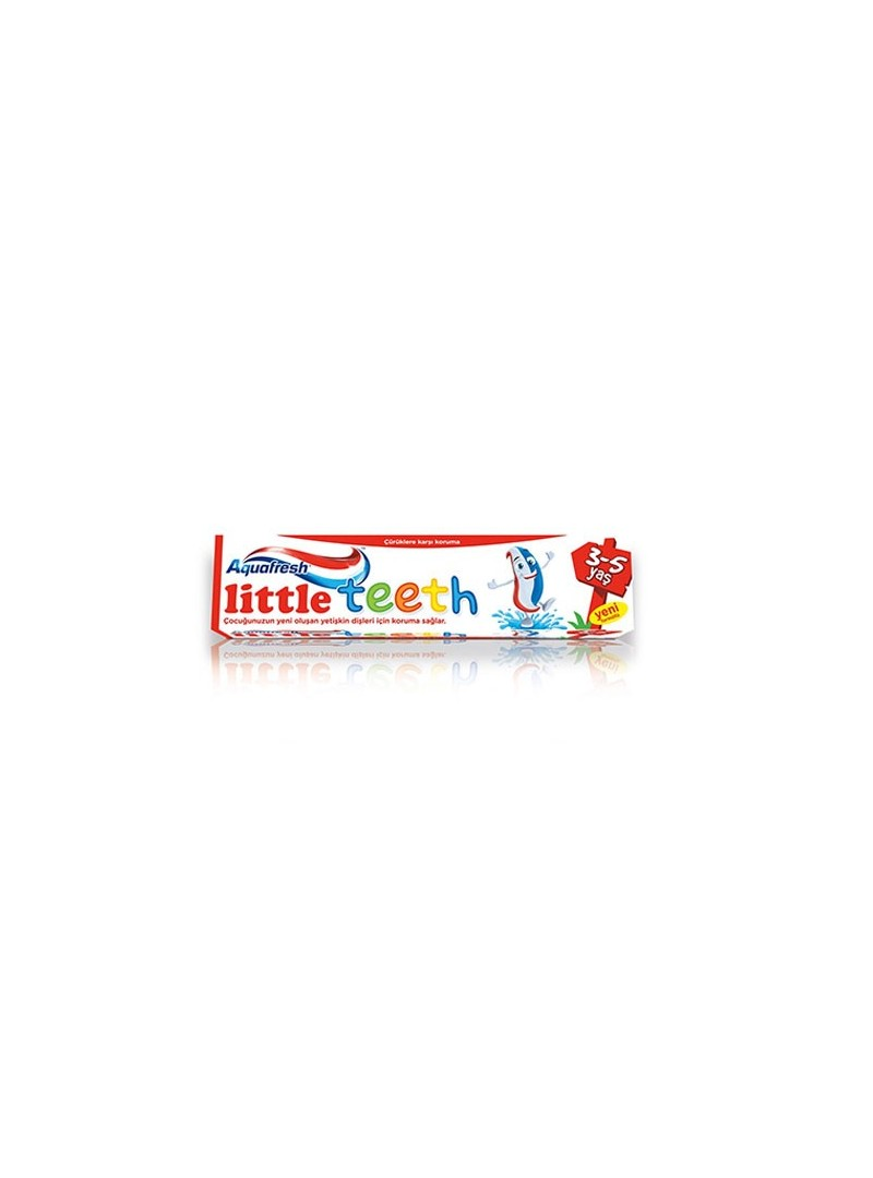 Aquafresh Little Teeth Diş Macunu 3-5 Yaş 50ml