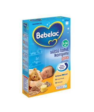 Bebelac Sütlü Tahıl Karışımı Gece Kaşık Maması 125 gr