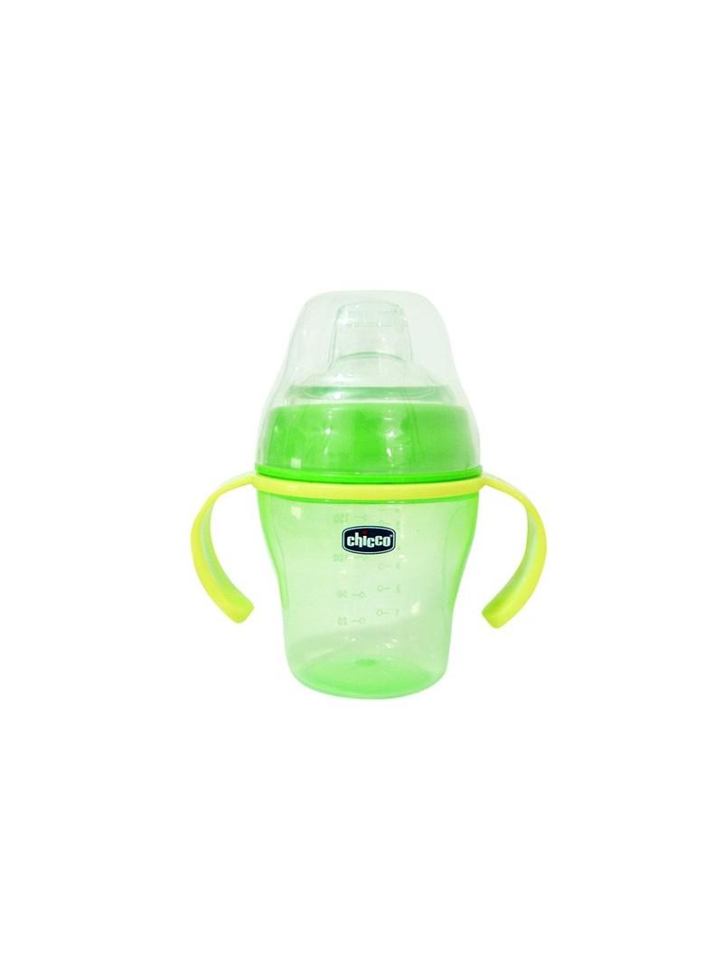 Chicco Soft Cup 200 ml Alıştırma Bardağı Yeşil