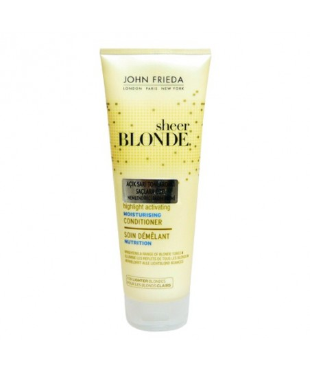 John Frieda Blonde Açık Sarı Saçlara Nemlendirici Bakım Kremi