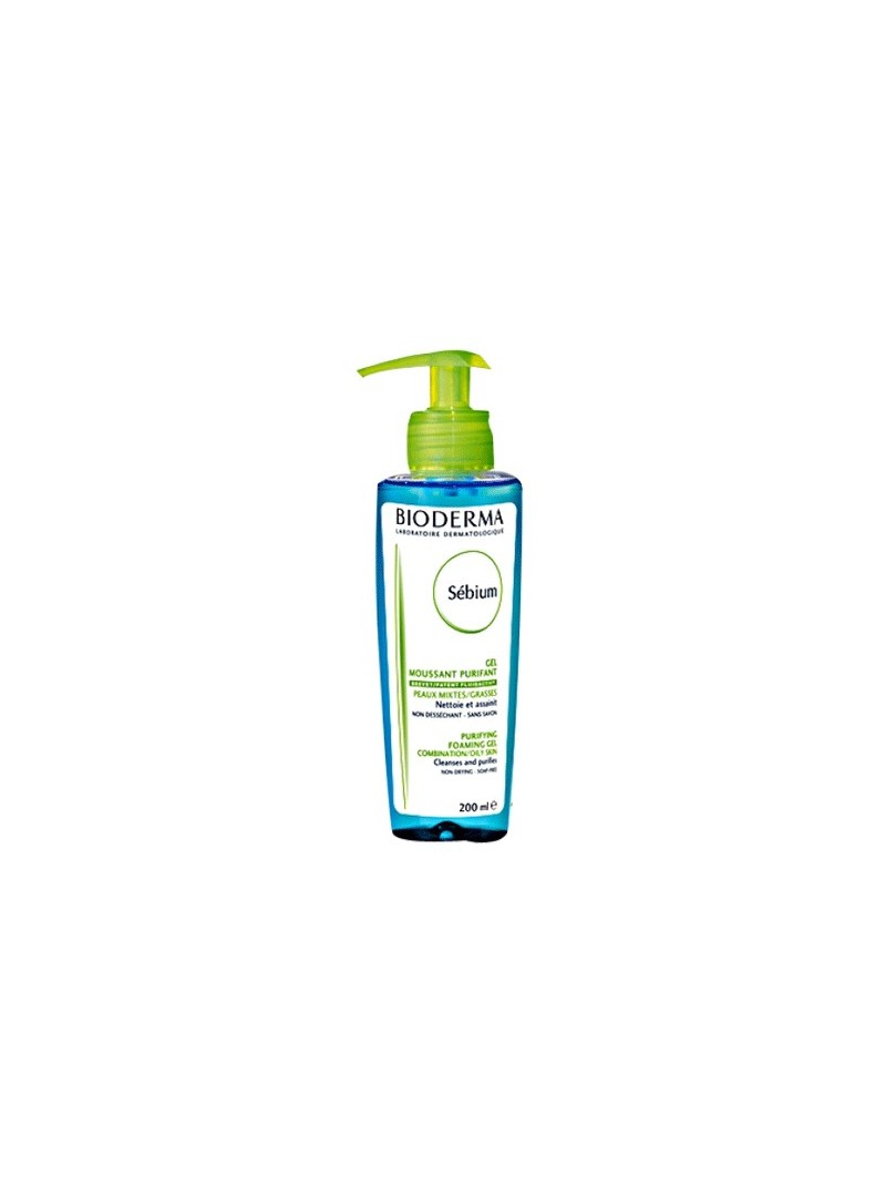 Bioderma Sebium Foaming Gel 200 ml