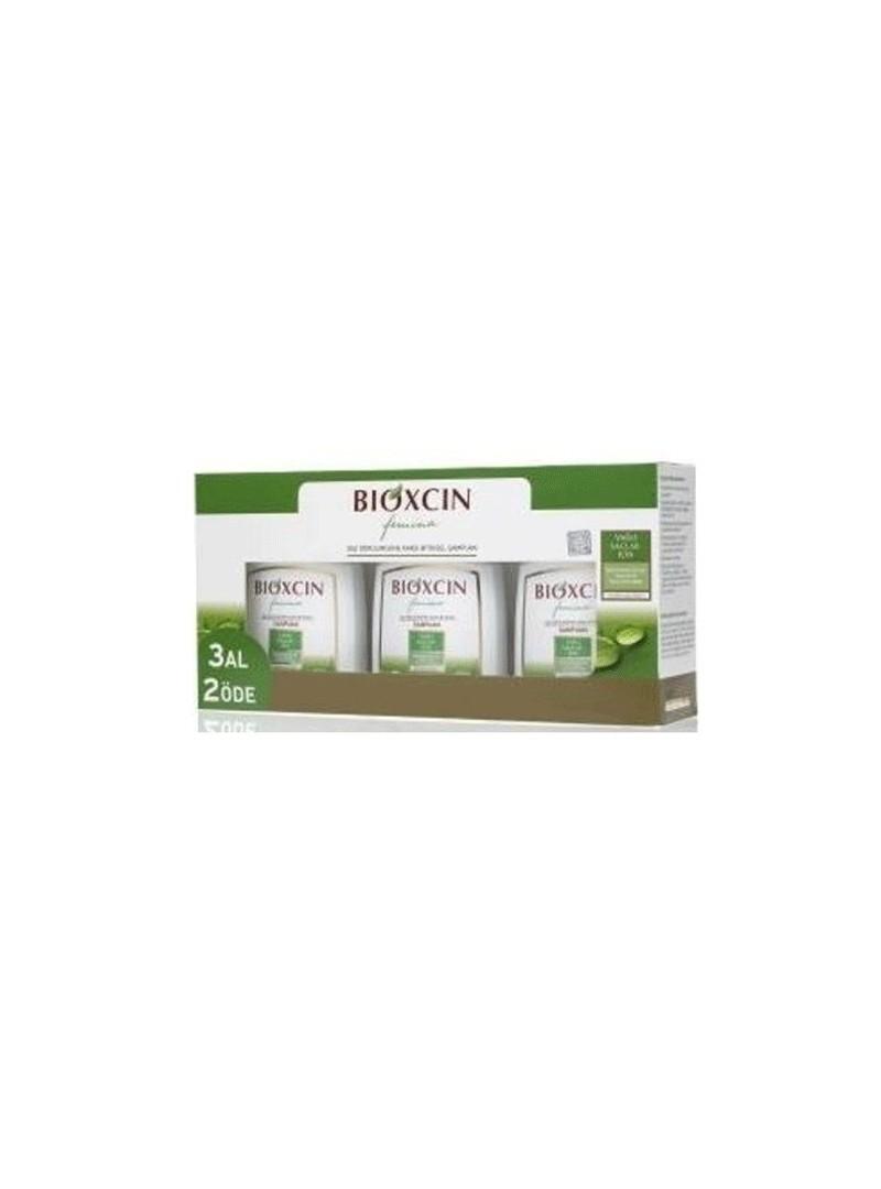 Bioxcin Femina 3 Al 2 Öde Yağlı Saçlar için Şampuan 300 ml