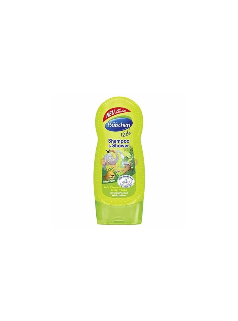 Bübchen Çoçuk Şampuan Ve Duş Jeli Jungle 230 ml