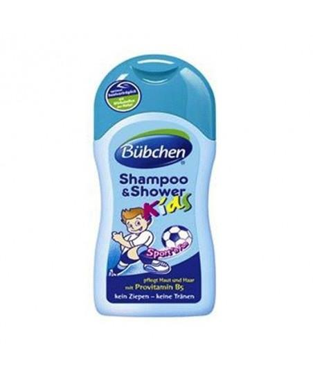 Bübchen Şampuan ve Duş Jeli Sport 200ml