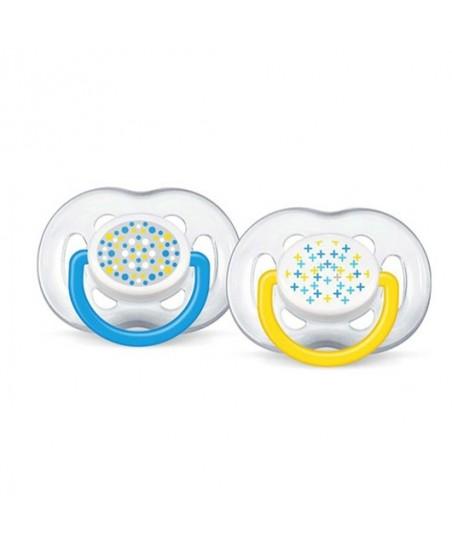 Philips Avent SCF180/24  Hava Delikli Ortodontik Emzikler 6-18 Ay 2 li