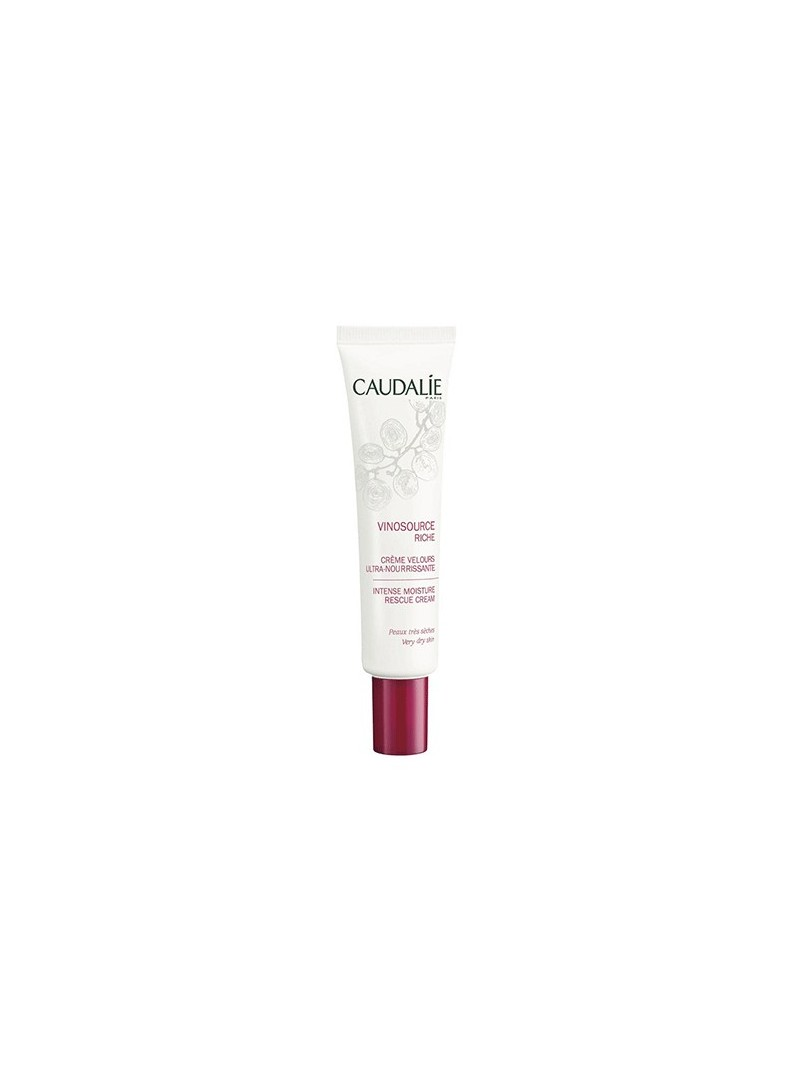 Caudalie Vinosource Riche İntense Moisture Rescue Cream 40 ml