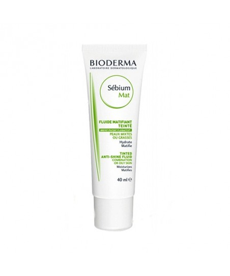 Bioderma Sebium Tinted Anti-Shine Cream