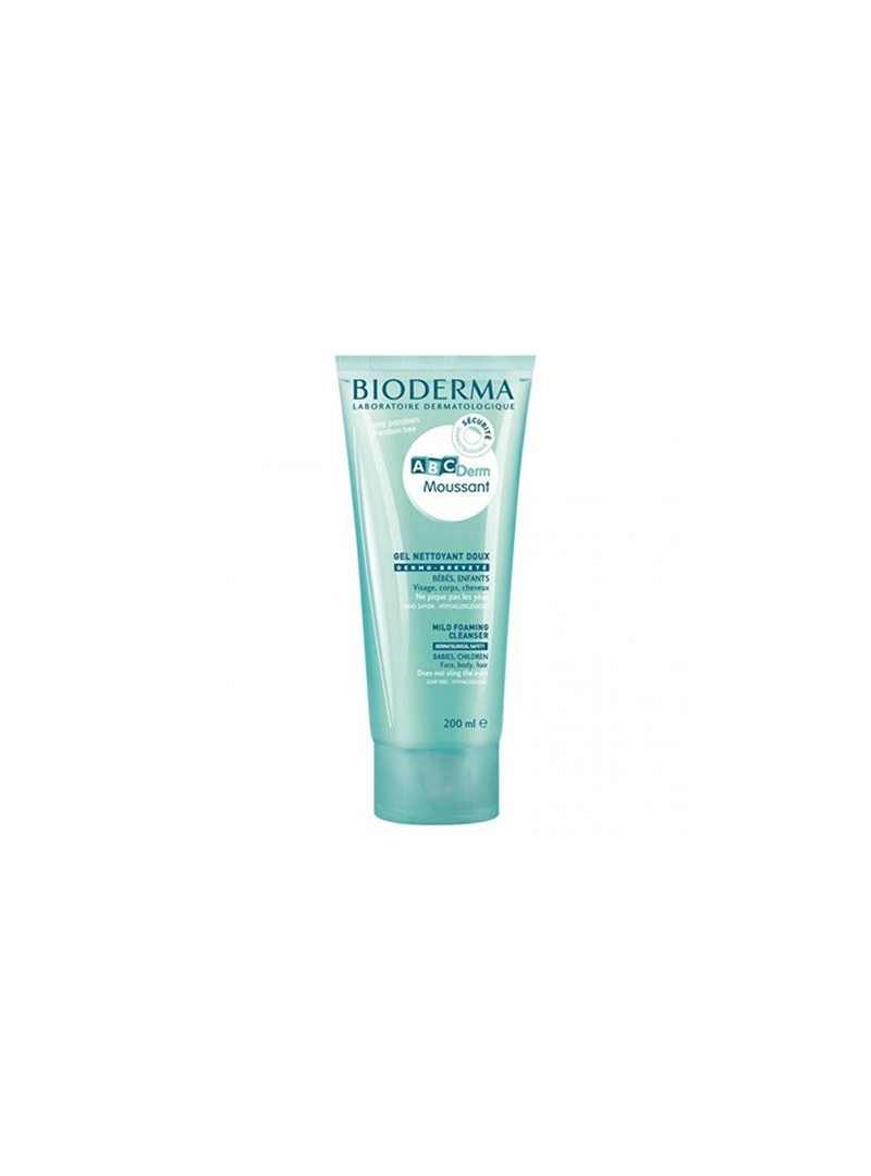 Bioderma ABCDerm Moussant gel 200ml