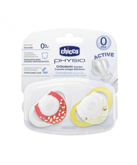 Chicco 5723 Physioring  Silikon Emzik 0m+