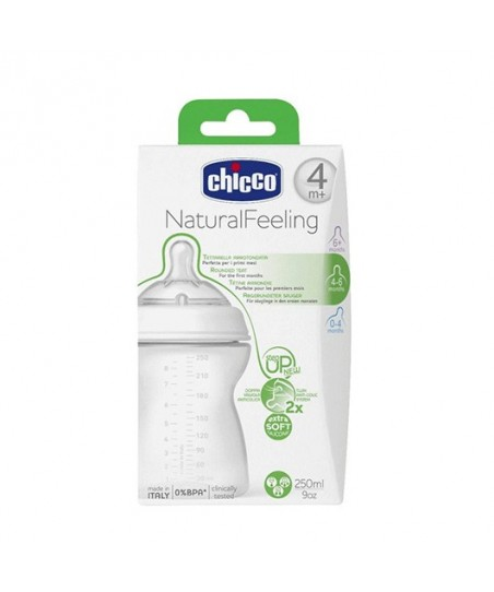 Chicco Natural Feeling Biberon 4 ay+  250 ml