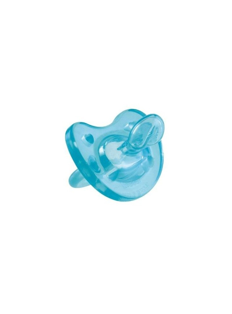 Chicco Physio Soft Silikon Emzik Mavi