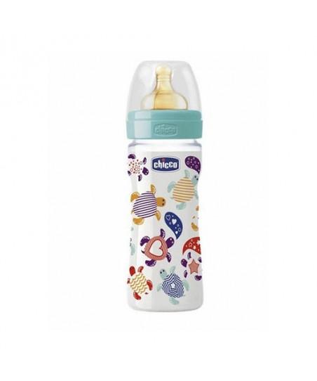 Chicco %0 BPA Biberon Kauçuk 250ml PP Akış Ayarlı