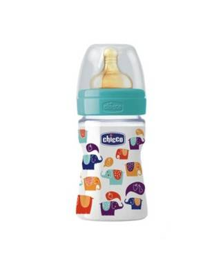Chicco PP İronik Kauçuk Biberon (150 ml)
