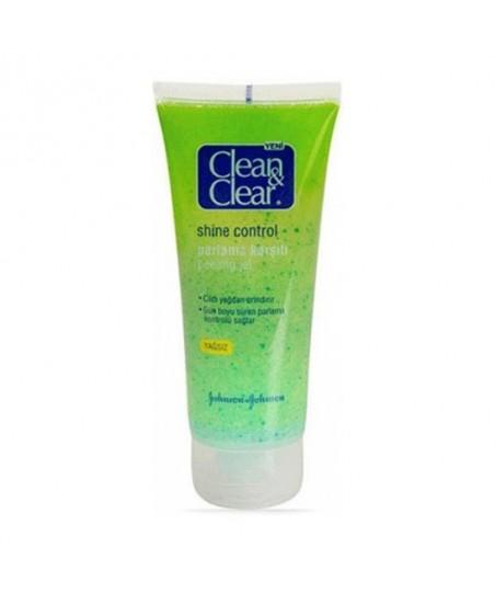 Clean&Clear Shine Control Parlama Karşıtı Peeling Jel 100 ml