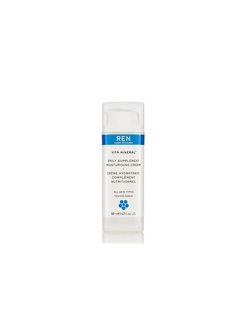 REN Vita-Mineral Daily Supplement Moisturising Cream 50ml