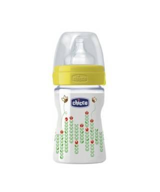 Chicco Wellbeıng Yeni PP Unisex Silikon Biberon 150 ml