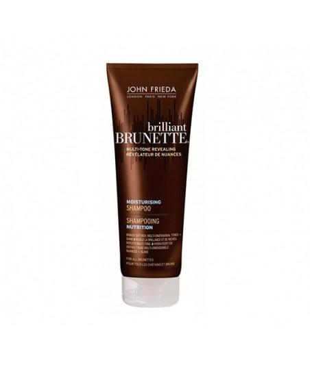 John Frieda Brilliant Brunette Multi-Tone Revealing Moisturising Shampoo
