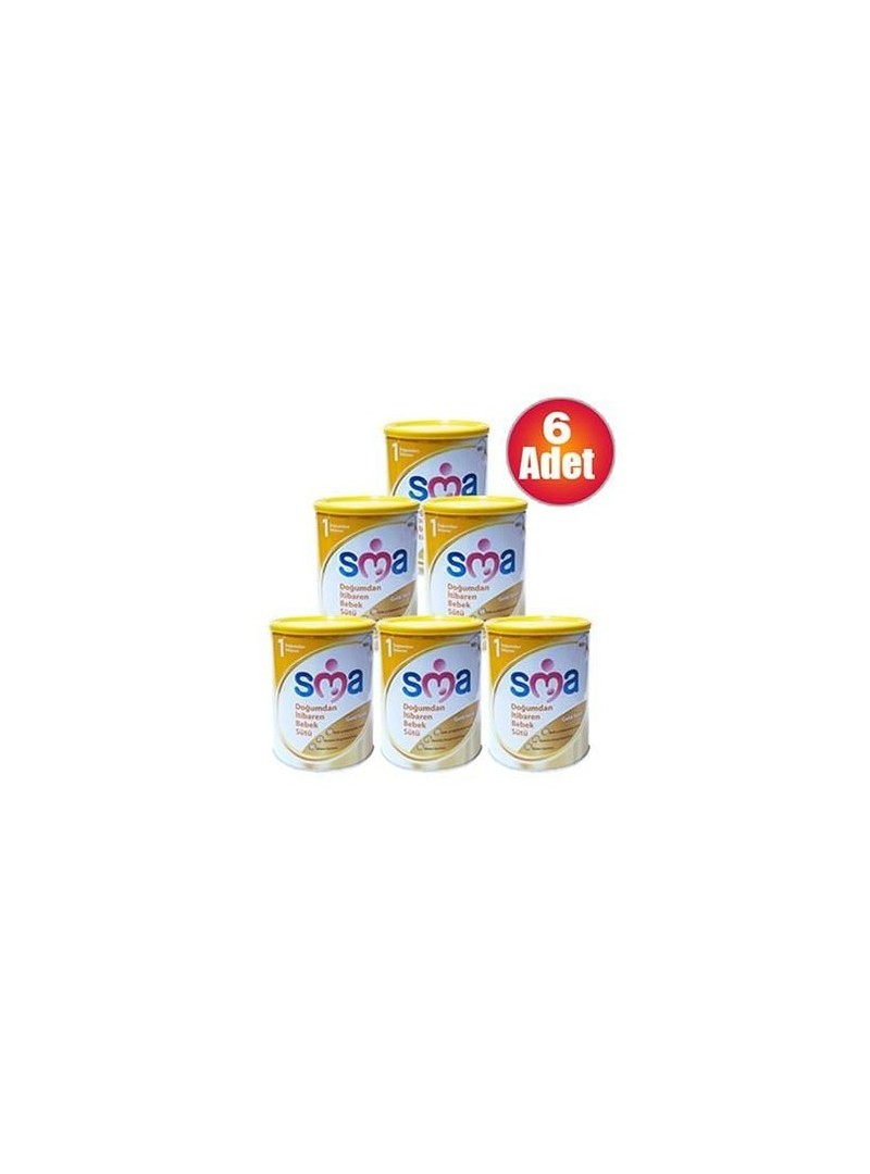 SMA 1 Gold Biberon Maması 900gr 6 Adet