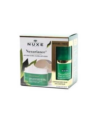 Nuxe Nuxuriance Jour Cream P.M. 50 ml - Yaşlanma Karşıtı/Nuxe Contour Des Yeux Eye 15 ml Hediyeli