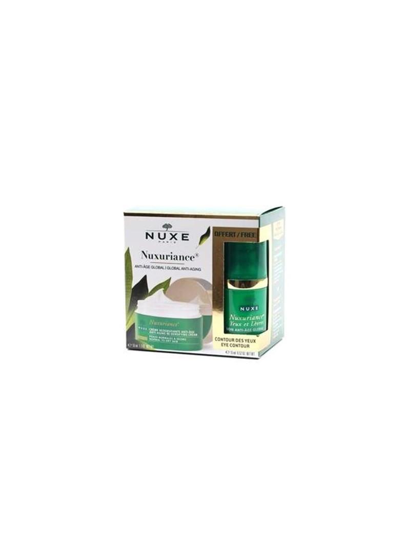 Nuxe Nuxuriance Jour Emulsion P.M. 50 ml - Yaşlanma Karşıtı/Nuxe Contour Des Yeux Eye 15 ml Hediyeli