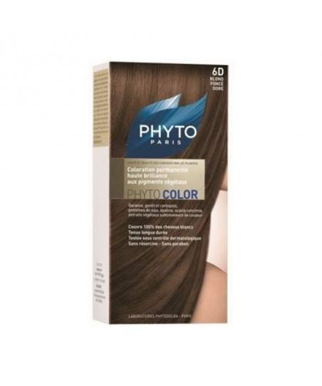 Phyto Color Saç Boyası 6D Koyu Dore Sarı (Blond Fonce Dore)
