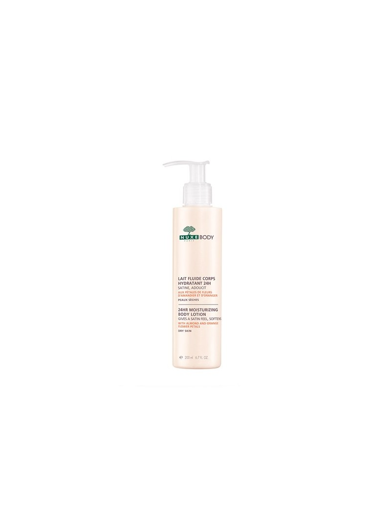 Nuxe Body Lait Fluide Corps Hydratant 200 ml