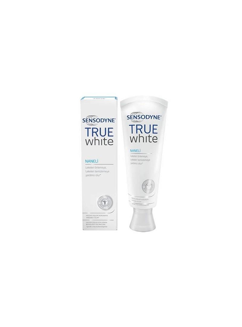 Sensodyne True White Naneli Beyazlatıcı Diş Macunu 75 ml.