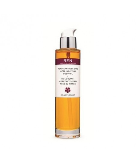 REN Moroccan Rose Otto Ultra-Moisture Oil 100 ml