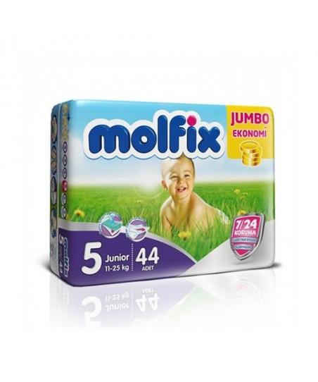 Molfix 4X4 Uyum Junior Jumbo Paket No:5 (11 - 25 kg) 44'lü