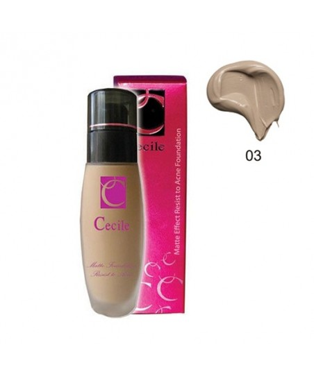 Cecile Matte Effect Resist to Acne Foundation