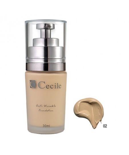 Cecile Anti Wrinkle Foundation Kırışıklık Önleyici Fondöten