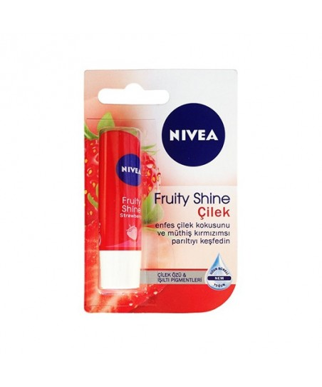 Nivea Fruity Shine Çilek Lip Stick