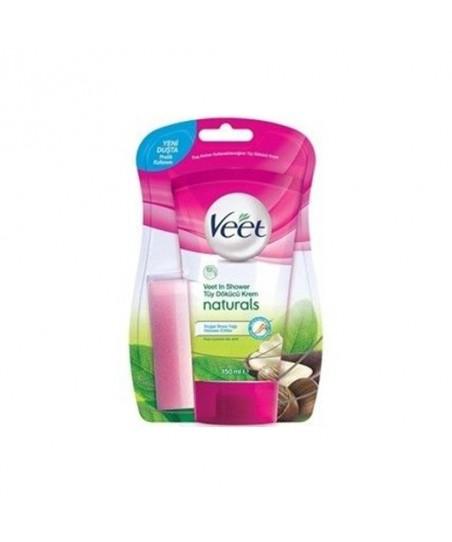 Veet  Tüy Dökücü Krem Naturals Doğal Shea Yağı 150 ml
