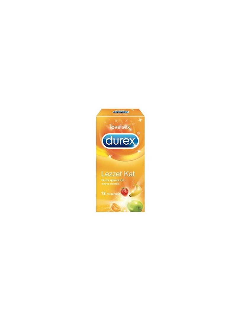 Durex Select (Lezzet Kat) Prezarvatif 12'li