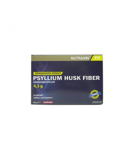 Nutraxin Psyllium Husk Fiber 5gr x 30