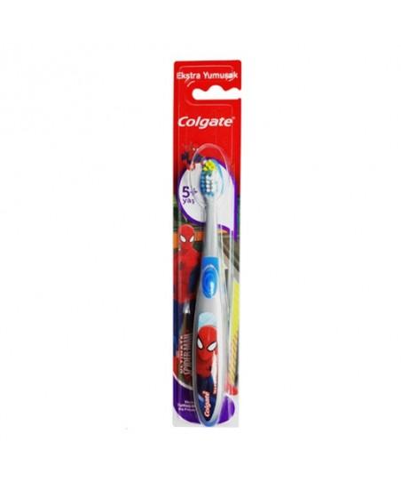 Colgate Spiderman Çocuk Diş Fırçası 5+ Ekstra Yumuşak