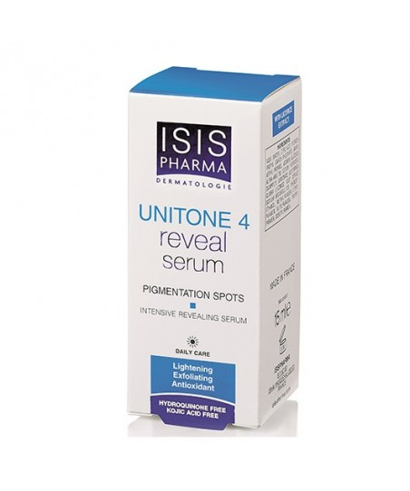 Isis Pharma Unitone 4 White+Reveal Serum 15ml