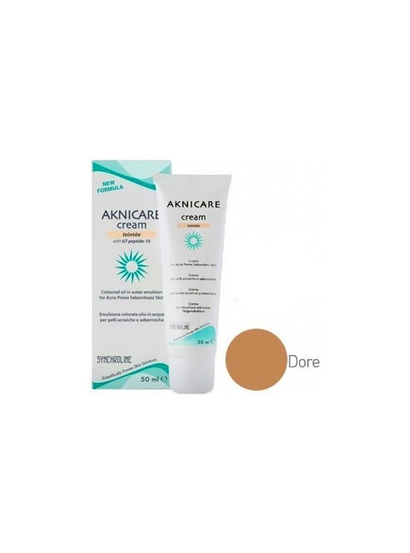 Aknicare Cream Teintee Dore Renkli 50 ml