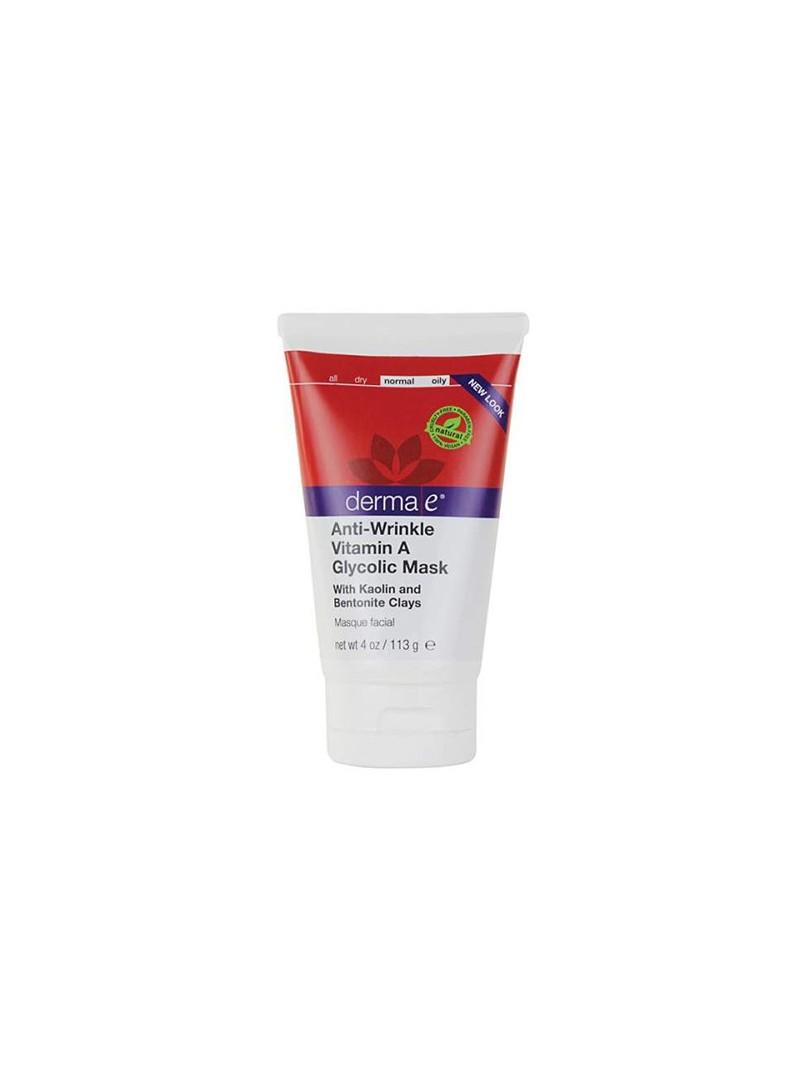 Derma E Anti Wrinkle Vitamin A Glycolic Mask 113 g - Kırışıklık Giderici Yüz Maskesi