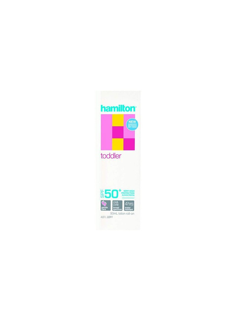 Hamilton Toddler Roll-On SPF50+ 50ml