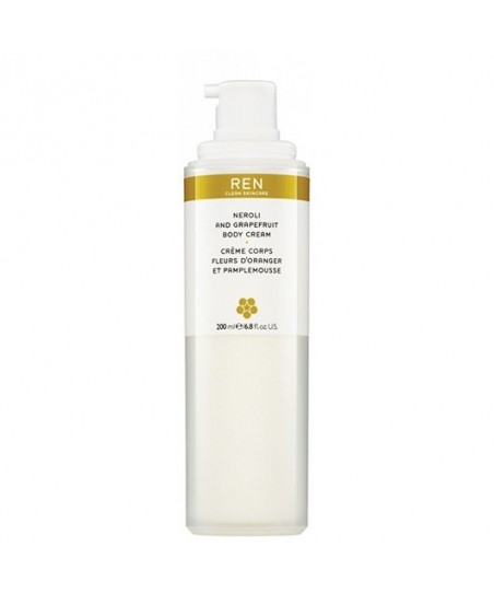 Ren Neroli and Grapefruit Body Cream 200 ml