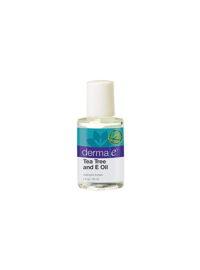 Derma E Tea Tree and E Oil 30 ml - Çay Ağacı ve E Vitaminli Yağ