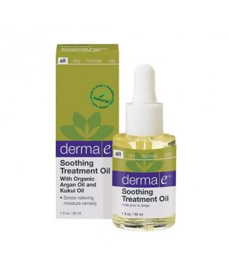 Derma E Soothing Facial Treatment Oil 30ml - Yatıştırıcı Bakım Yağı